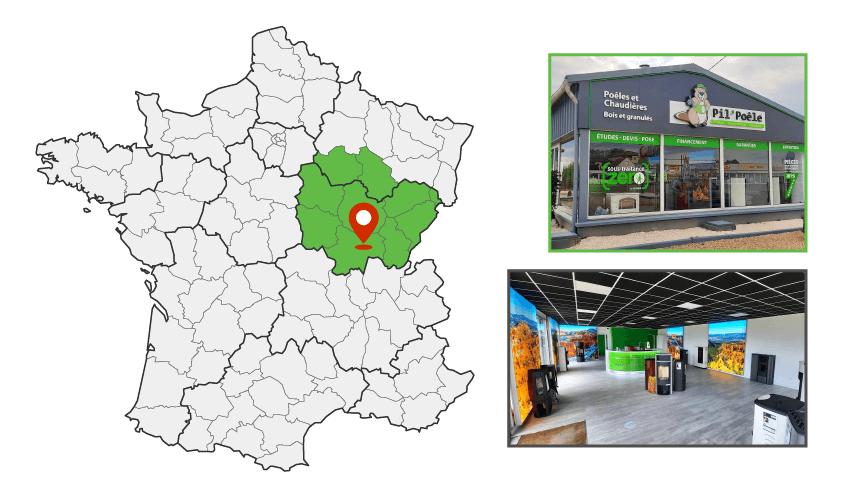 Magasin Pil'Poêle à Lux - Chalon-sur-Saône (71)